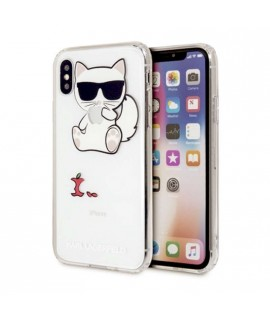 Coque CHOUPETTE Karl Lagerfeld pour iPhone X / XS