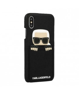Coque Karl Lagerfeld pour iPhone X / XS