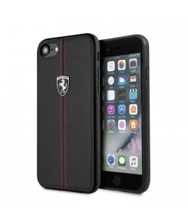Coque originale rouge et noir FERRARI iPhone 7 / 8