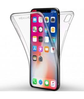 Coque 360 integrale en gel iPhone XR