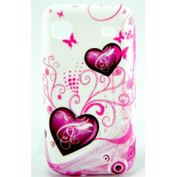 """Coque beauty """" LOVE 3"""" pour SAMSUNG GALAXY S ."""