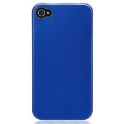 Coque TITANIUM bleue pour Iphone 4 et 4s