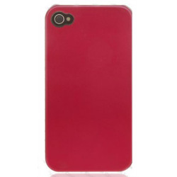 Coque TITANIUM rouge pour Iphone 4 et 4s