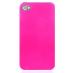 Coque TITANIUM rose pour Iphone 4 et 4S