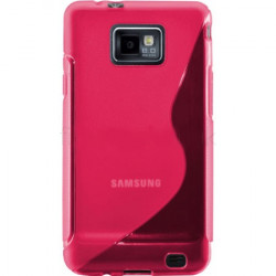 Coque stylish rose pour samsung galaxy S2