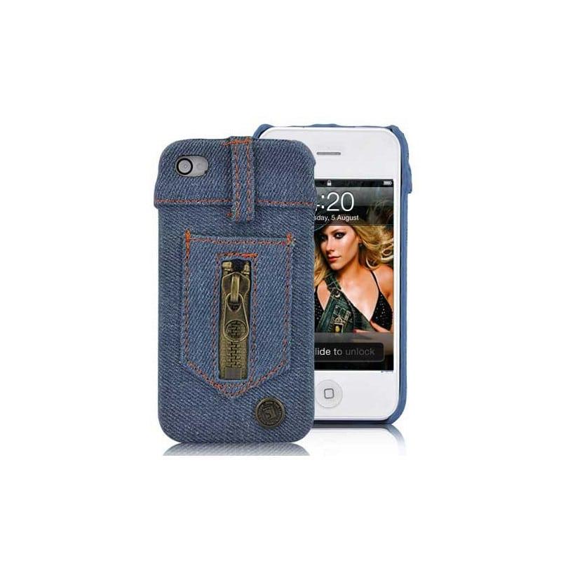 Coque JEANS NEW YORK pour iphone 4 et 4S