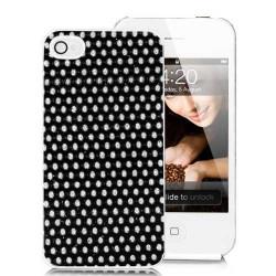 Coque POWDER noire pour Iphone 4
