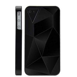 Coque GEO noire pour Iphone 4 et 4S