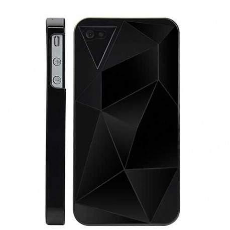 Coque GEO noire pour Iphone 4