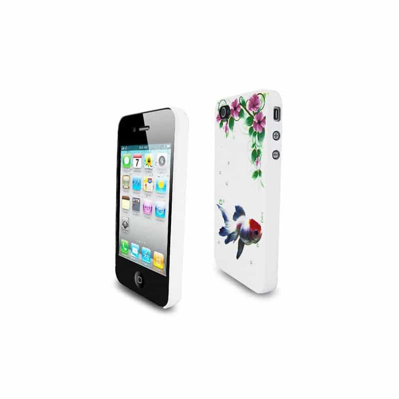 coque goldfish pour iphone 4 et 4s. Black Bedroom Furniture Sets. Home Design Ideas