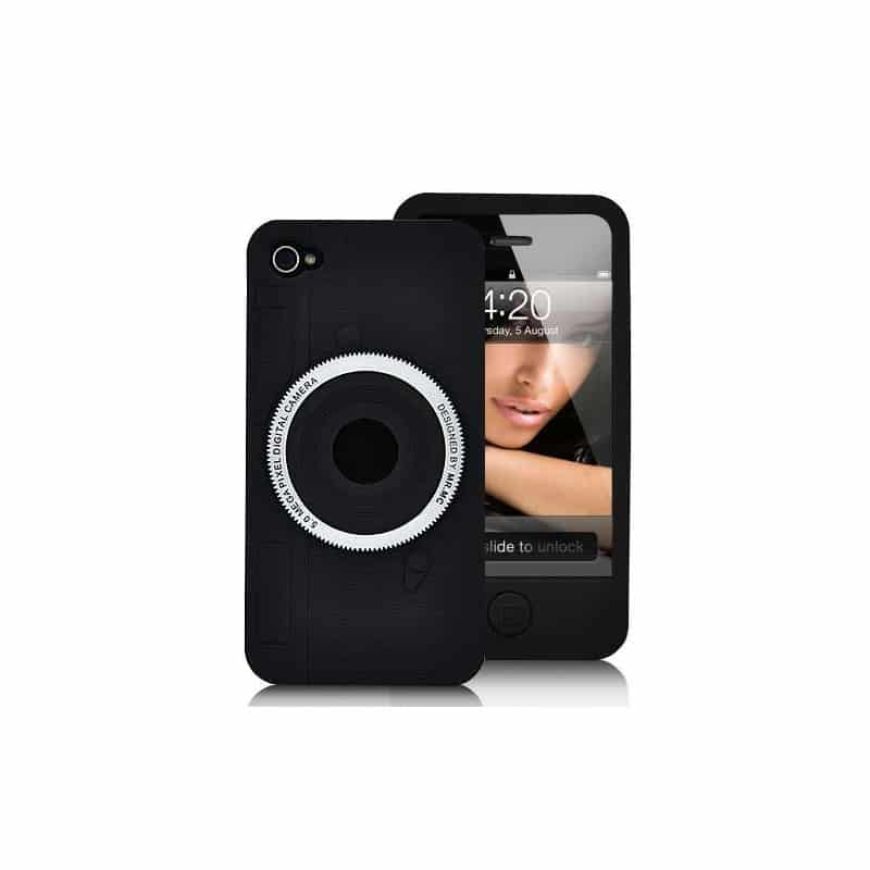 coque focus noire pour iphone 4. Black Bedroom Furniture Sets. Home Design Ideas