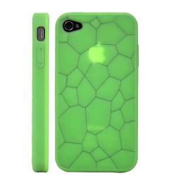 Coque EARTH verte pour Iphone 4S