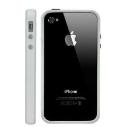 Bumper LUXE blanc pour Iphone 4 et 4S