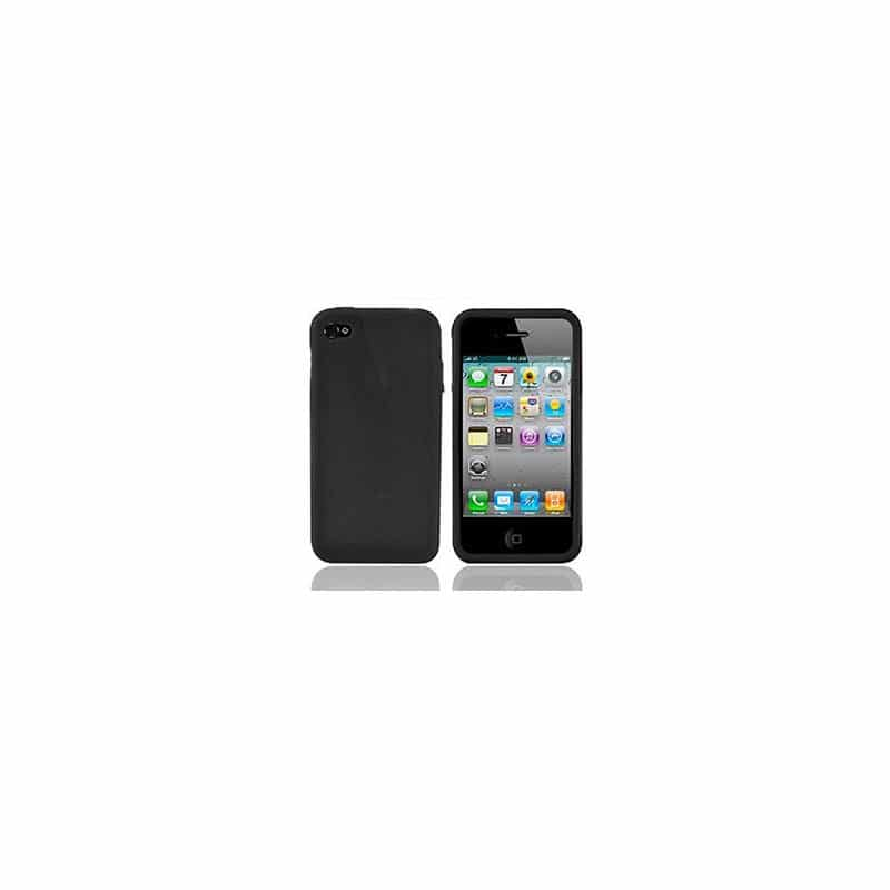coque silicone noire pour iphone 4s. Black Bedroom Furniture Sets. Home Design Ideas