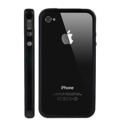 Bumper LUXE noir pour Iphone 4 et 4S