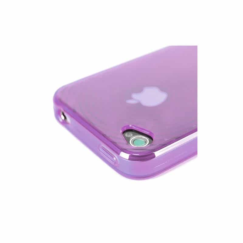 coque smoke circle mauve pour iphone 4. Black Bedroom Furniture Sets. Home Design Ideas