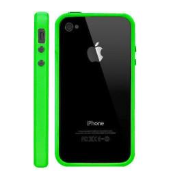 Bumper LUXE vert pour Iphone 4 et 4S