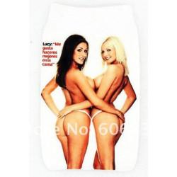 Etui chaussette SEXY TWINS pour telephones et lecteurs mp3