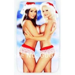 Etui chaussette SEXY CHRISTMAS pour telephones et lecteurs mp3