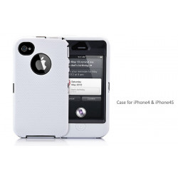 Coque SUPERPROTECT blanche pour Iphone 4S