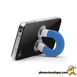 Support AIMANT pour telephones ou lecteurs Mp3