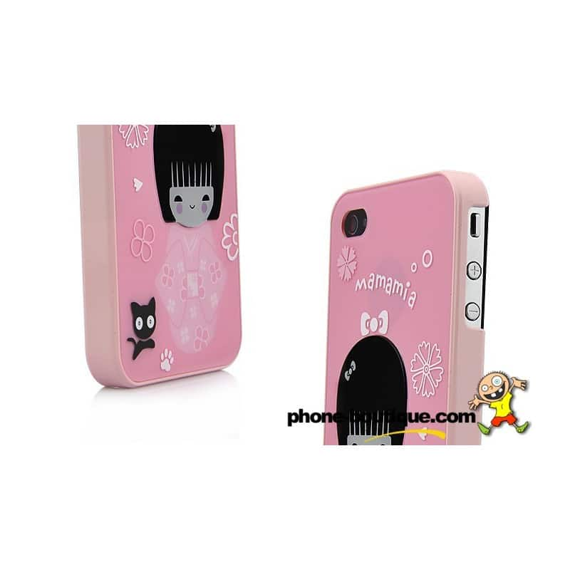 coque mamania pour iphone 4 et 4s. Black Bedroom Furniture Sets. Home Design Ideas