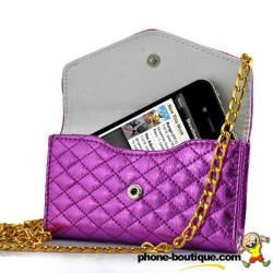 Sac à main LUXE rose pour téléphones portables