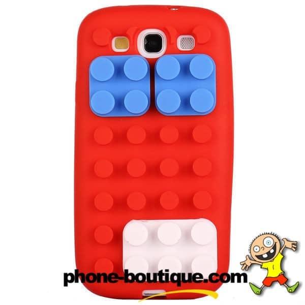 Coque LEGO 3D rouge pour SAMSUNG GALAXY S3 9,53 €