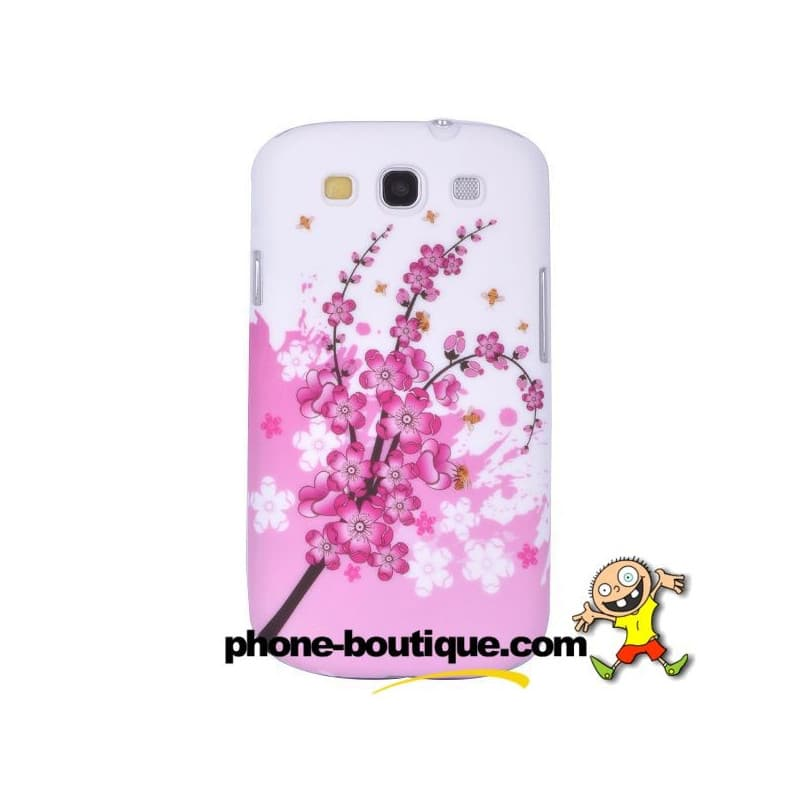 coque flower pour samsung galaxy s3. Black Bedroom Furniture Sets. Home Design Ideas