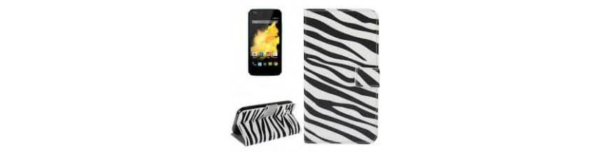 Etuis Cuir pour WIKO HIGHWAY PURE